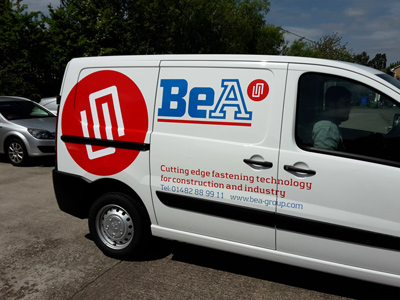 Van Side Graphics (BeA)