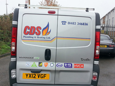 Van Rear Graphics (CDS)