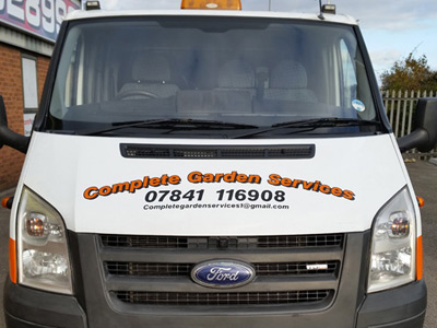 Van Front Graphics (CGS)