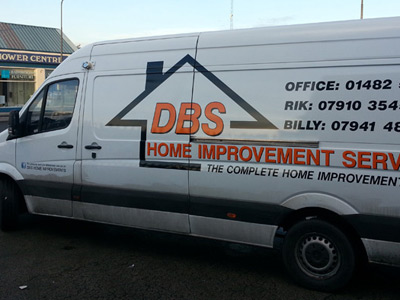 Van Rear Graphics (DBS)