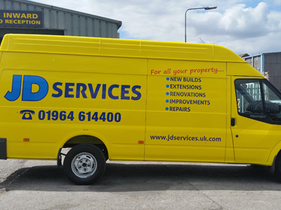 Van Side Graphics (JD Services)