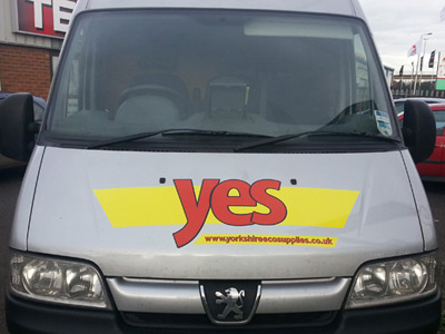 Van Front Graphics (Yes)
