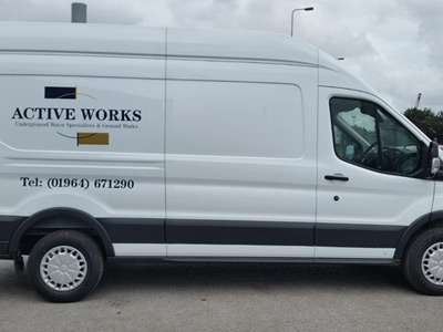 Van Side Graphics (Active Works)
