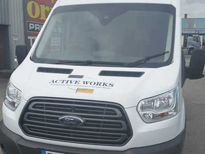Van Front Graphics (Active Works)