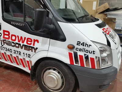 Van Side Graphics (Bower)