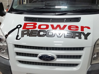 Van Front Graphics (Bower)