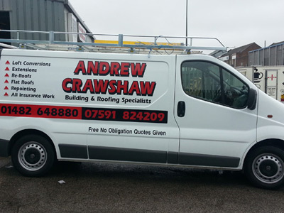 Van Side Graphics (Andrew Crawshaw)