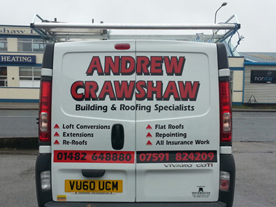 Van Rear Graphics (Andrew Crawshaw)
