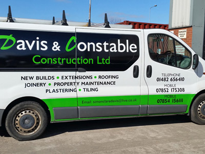 Van Side Graphics (Davis and Constable)