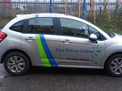 Van Side Graphics (East Riding College)