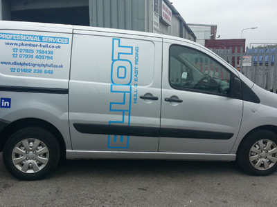 Van Side Graphics (Elliot)