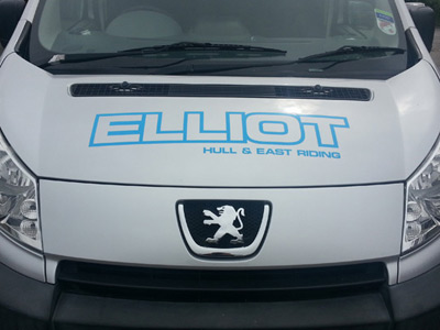 Van Front Graphics (Elliot)