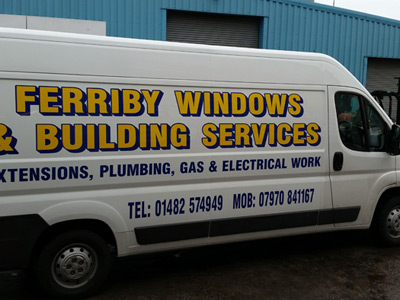 Van Side Graphics (Ferriby Windows)