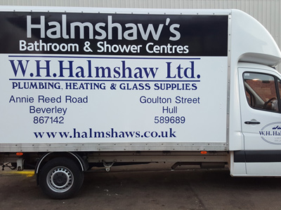 Van Side Graphics (Halmshaws)