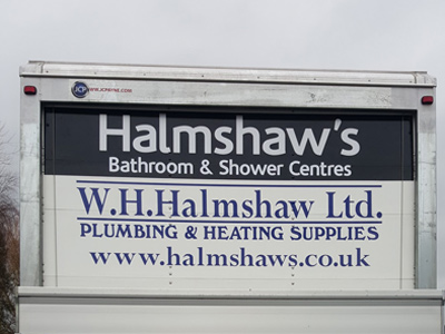 Van Rear Graphics (Halmshaws)