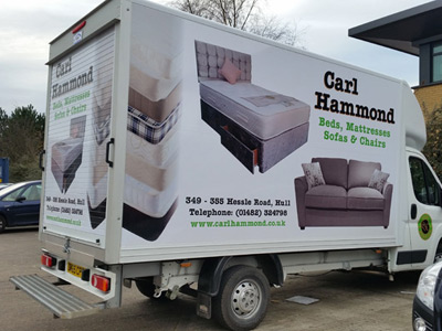 Van Side Graphics (Carl Hammond)