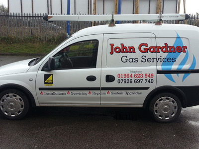 Van Side Graphics (John Gardner)
