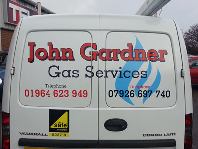 Van Rear Graphics (John Gardner)