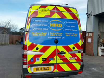 Van Rear Graphics (Peter Hird)