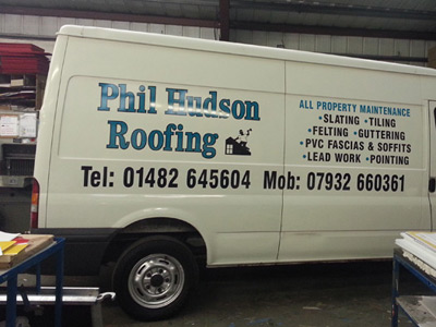 Van Side Graphics (Phil Hudson)