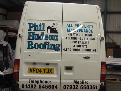 Van Rear Graphics (Phil Hudson)