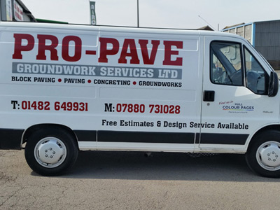 Van Side Graphics (Pro Pave)