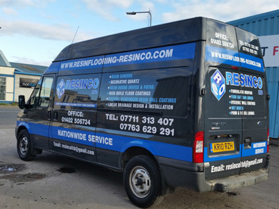 Van Side Graphics (Resinco)
