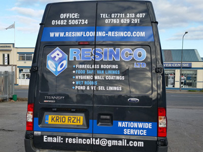 Van Rear Graphics (Resinco)