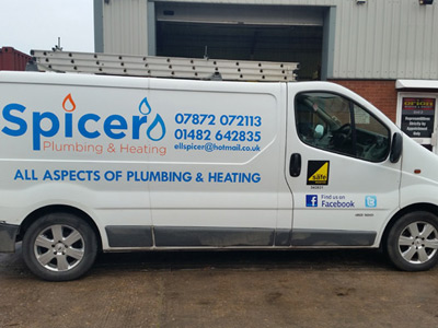 Van Side Graphics (Spicer)