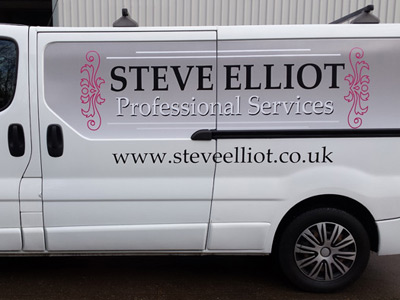 Van Side Graphics (Steve Elliot)