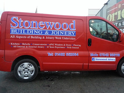 Van Side Graphics (Stonewood)