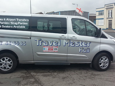 Van Side Graphics (Travel Master)