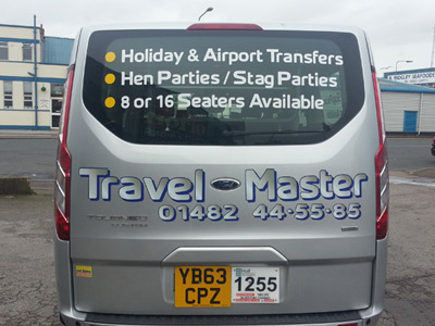 Van Rear Graphics (Travel Master)